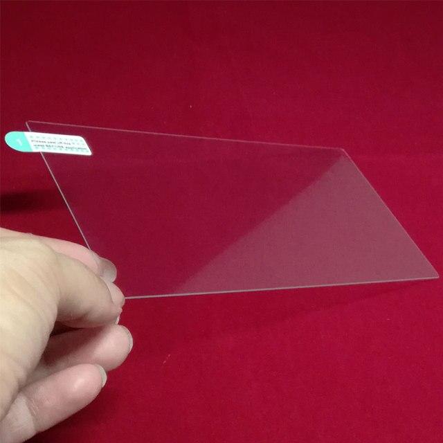 153x85 MM/152x91mm película protectora de pantalla de vidrio templado para Podofo 2 Din coche Multimedia reproductor de Audio estéreo 2DIN Radio para coche de 7 pulgadas