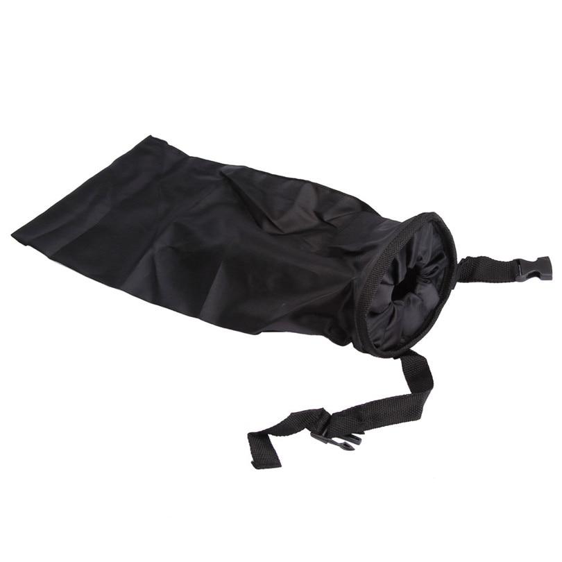 Hot Universal Car Trash Can Garbage 210D Oxford Black Seat Organizer Bags Waterproof