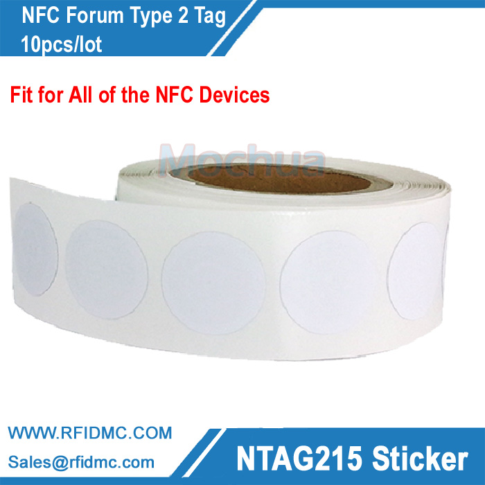 Фотография ntag215 sticker ntag215 label nfc sticker ntag215 tag for tagmo