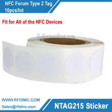 Ntag215 Sticker NTAG215 Label NFC Sticker NTAG215 Tag For Tagmo