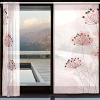 Cortinas Para Sala De Estar Curtains And Tulle Luxury Living Room Light Color Vitrage Gordijnen Voor