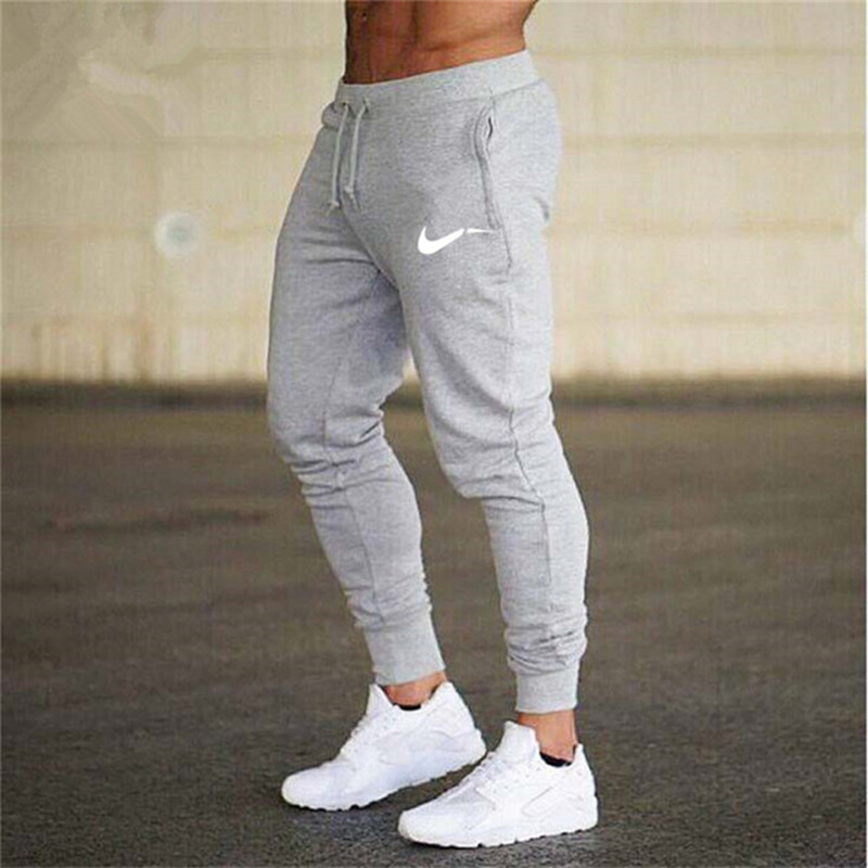 2019 Mens Joggers Casual Pants Fitness Male Sportswear Tracksuit Bottoms Skinny Sweatpants Trousers Gyms Joggers Track Pants