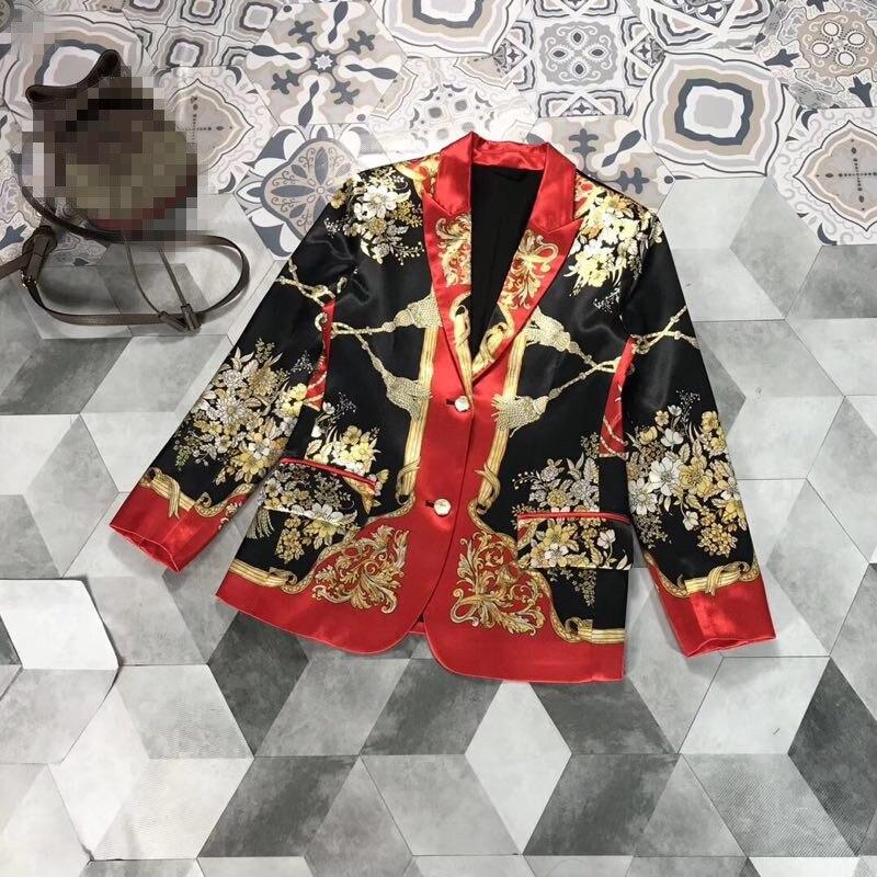 FA01837 модные женские туфли пальто и куртки 2019 взлетно посадочной полосы Элитный бренд Европейский дизайн вечерние стиль для женщи