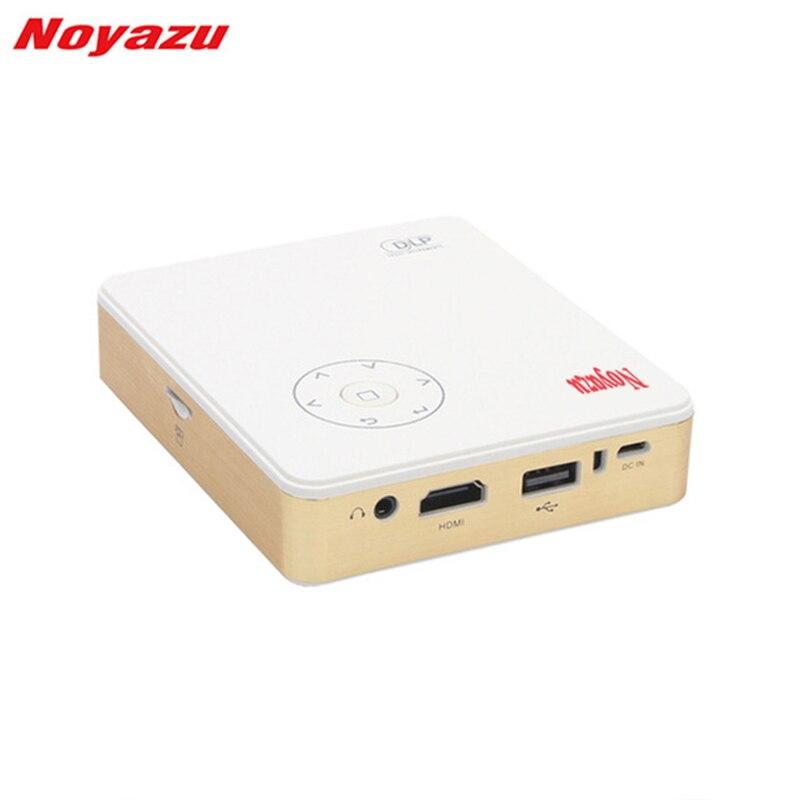 Noyazu Mini DLP Projector Android 4.4 Bluetooth Wifi Home Theater Pico Portable Pocket LED USBBuilt in battery 3200mA генератор инверторный patriot 3000il