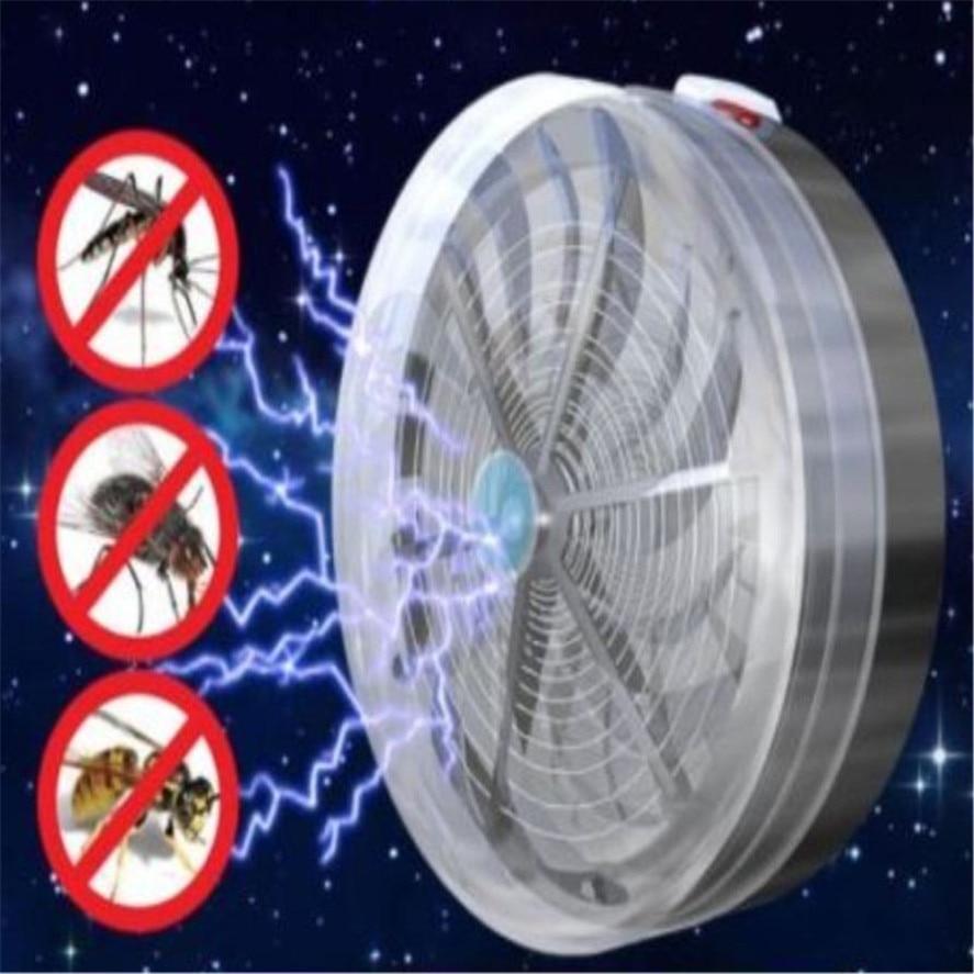 New 1pc Solar Buzz Kill Zapper Killer UV Light Fly Insect Bug Mosquito LAMP Home kitchen garden Solar kill Bug