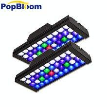 PopBloom led marine aquarium fish tank lamp Reef LED light Programmable coral SPS LPS aquarium sea reef tank MJ3BP2