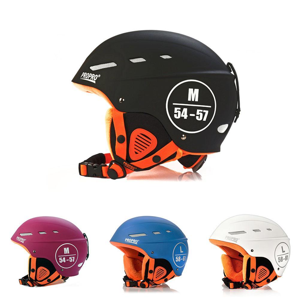Nouveau casque de Ski hommes femmes casque léger Ski Sports tête équipement de protection casque de Ski