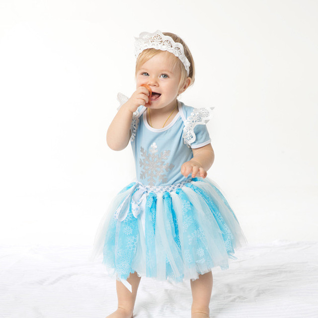 Ice Elsa Costume Baby Girls Outfit Bebe Kids Lace Romper Tutu Jumpsuit Overall Children Baby Infant  sc 1 st  AliExpress.com & Ice Elsa Costume Baby Girls Outfit Bebe Kids Lace Romper Tutu ...