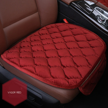 6 Colors Velvet Single Car Seat Cover Cushion Mat