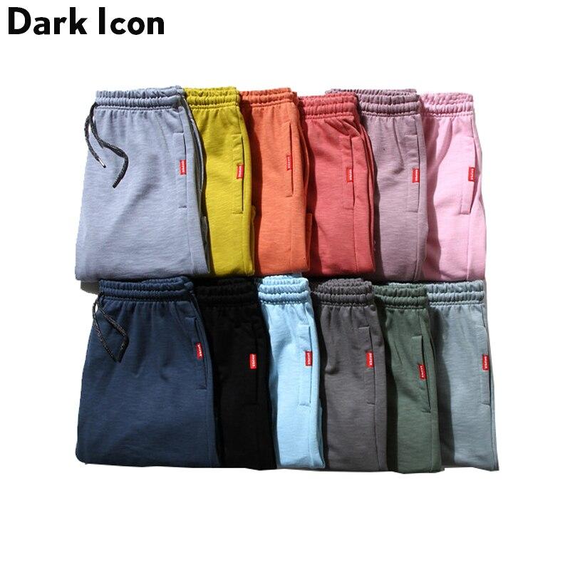 Bamboo Cotton Multy Colors Casual Mens Shorts 2017 Summer Solid Color Blank Shorts Men Elastic Waist Drawstring Cotton Shorts