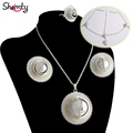 Ethiopian bridal jewelry African set Earrings/Necklace/Ring/Headwear/Nigeria/Sudan/Eritrea/Kenya/Wedding set Hypoallergenic