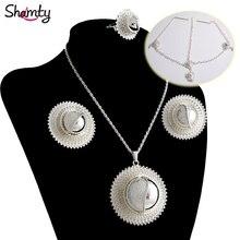 African-Sets Earrings Ethiopian Bridal-Jewelry Eritrea Kenya Sudan Nigeria Necklace Headwear