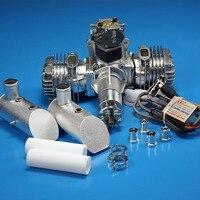 Dle111 бензин Двигатели для автомобиля 111cc два цилиндра двухтактного поддержки выхлопной трубы расширения