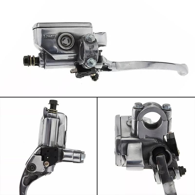 Motorcycle Front Brake Clutch Master Cylinder Reservoir Lever For Honda  CB400 Honda Valkyrie