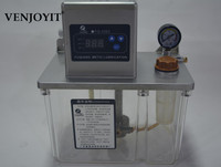 New 1.5L Auto Lubrication Pump CNC Digital Electronic timer Automatic oiler 110V