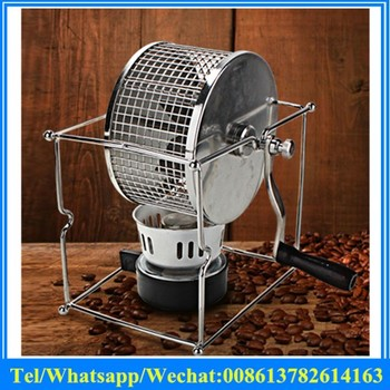 Household small coffee beans baking machine mini hand crank coffee beans roaster for home