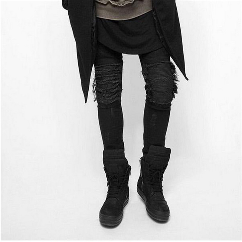 Online Get Cheap Black Ripped Skinny Jeans -Aliexpress.com ...