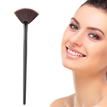 New Single Makeup Brush Blending/Contour/Cheek Blusher Powder Sector Makeup Brush Soft Fan Brush Foundation Brushes Make Up Tool