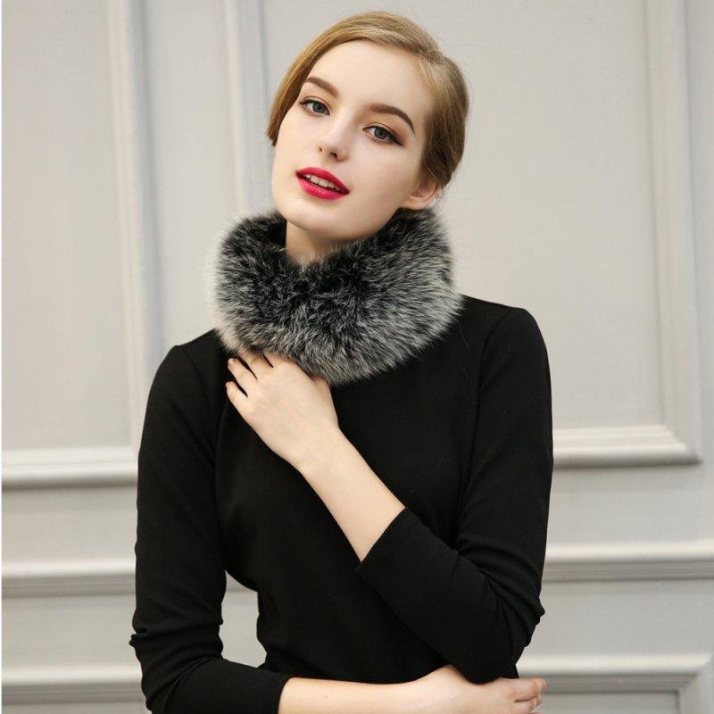 Autumn&Winter Faux Fur Scarves Rabbit Scarf False Clothing Scarfs Faux Fur Collar Shawl For Women шарф женский