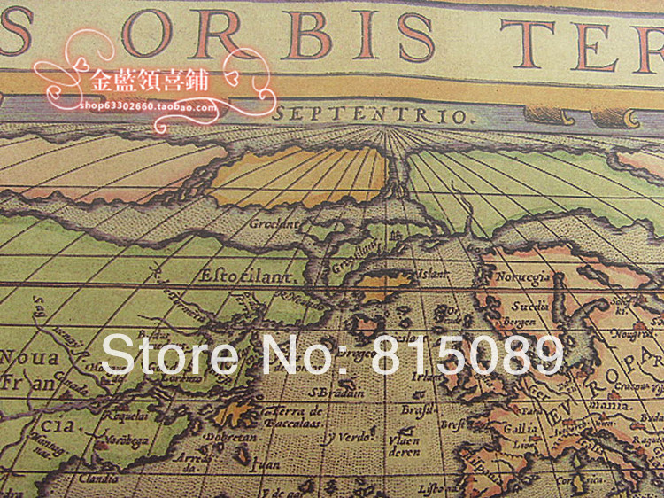 Vintage world map gift wrapping paper craft wall paper festival vintage world map gift wrapping paper craft wall paper festival party supplies 30 pcs 7552cm free shipping on aliexpress alibaba group gumiabroncs Choice Image