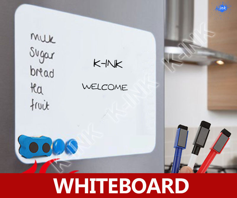 New Creative Magnetic Whiteboard , Soft Whiteboard As Fridge Magnet / Office Marker Blackboard / Sticker