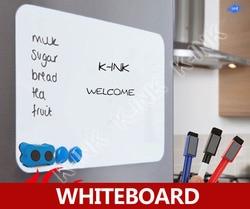 Nieuwe creatieve magnetische whiteboard, zachte whiteboard als magneet/kantoor marker schoolbord/sticker