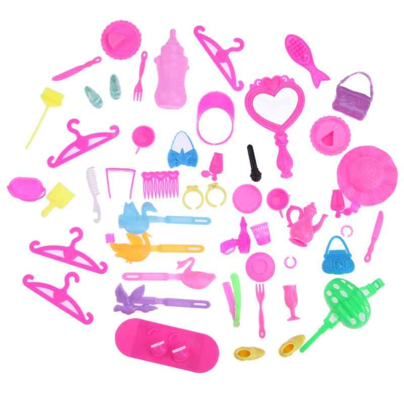 19cee3041 Detail Feedback Questions about 50pcs lot Doll Accessories Fashion ...