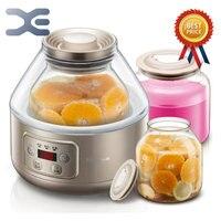 Йогуртницы терморегулятор высокое качество Мультиварка йогурт Кухня прибор