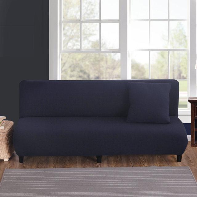 hussen fur sofa blau, online shop navy blue solid color sofa bed covers universal stretch, Design ideen