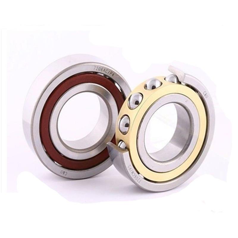 70mm diameter Angular contact ball bearings 7014 AC/P2DT 70mmX110mmX40mm,Contact angle 25,ABEC-9 Machine tool