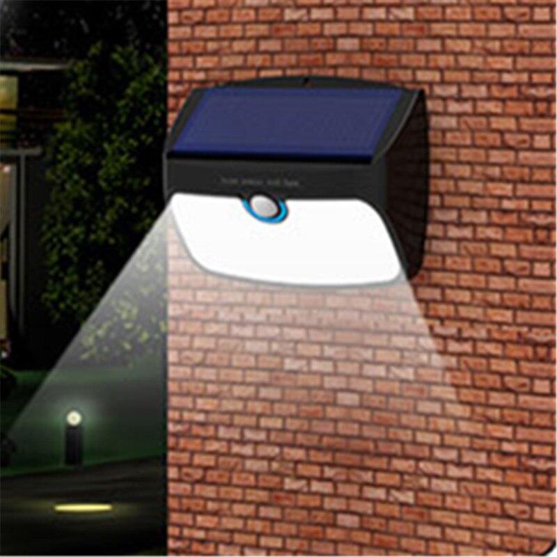 Energy Saving Solar Power LED Split Wall Lamp Outdoor Garden Street Waterproof Light Household Super Bright Human Sensor Garland super bright outdoor waterproof human body induction led solar energy wall lamp