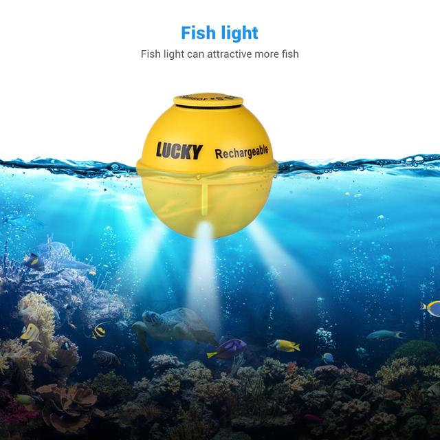 LUCKY FF718LiC-WLA 45M Sonar Fishfinder