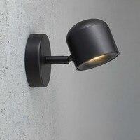 LED wall lamp Nordic minimalist corridor aisle wash wall lamp living room bedside reading lamp LU8221107