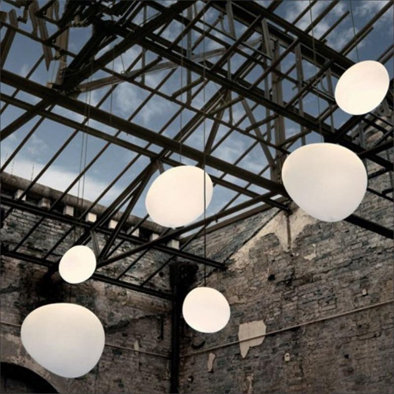 Nordic Pendant Lights White Globe Pendant Lamp Glass Lamp Shade For Living Room Light Kitchen Fixture
