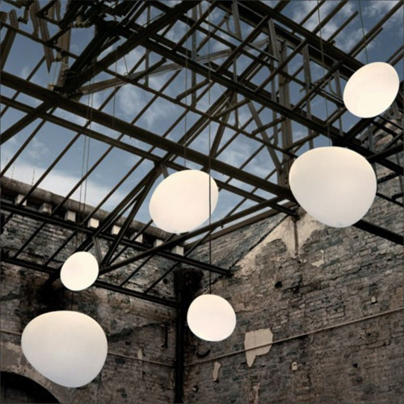 Buy nordic globe pendant lights white glass ball pendant lam - Suspension et lustre ...