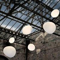Nordic Pendant Lights White Globe Pendant Lamp Glass Lamp Shade For Living Room Light Kitchen Fixture luminaria Hanging Lamp