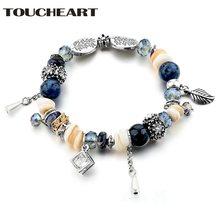 Toucheart браслет и браслеты из нержавеющей стали подвески для