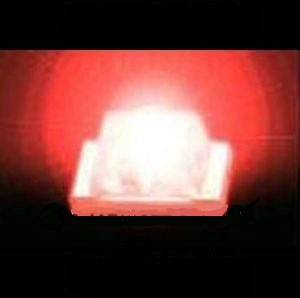 0603 SMD SMT LED Red Light Emitting Diode Luminous Tube 100 PCS/1 Lot