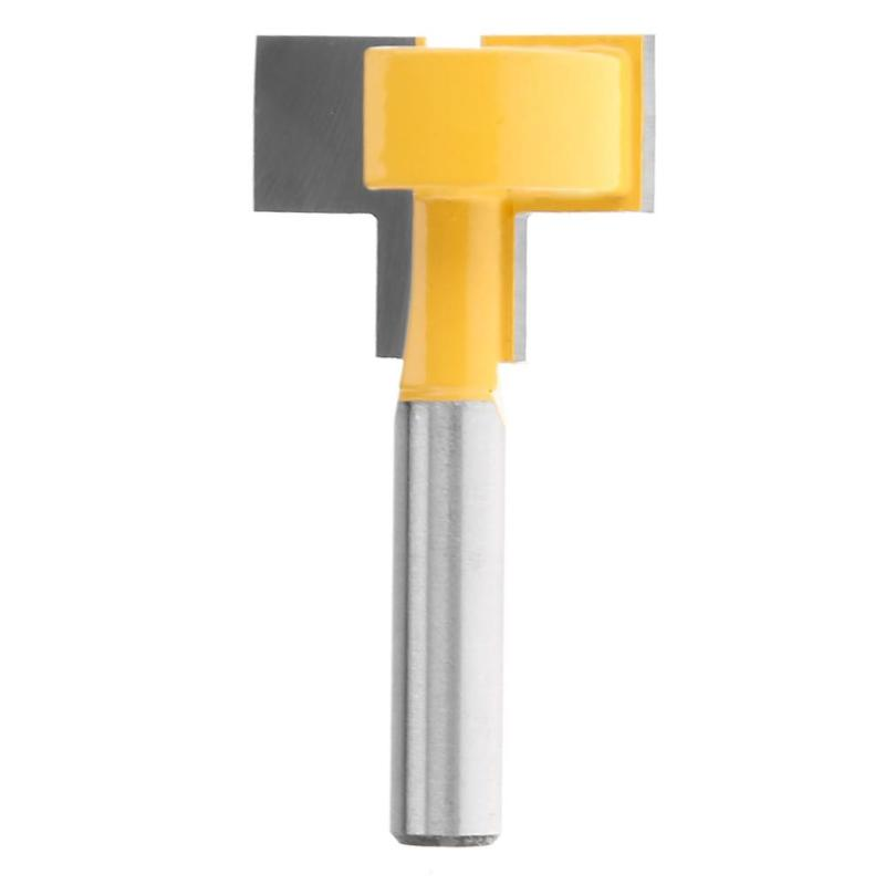 Carbide Router Bit T-Type Slotted Woodworking Tool Milling Cutter Router Bit 8mm Shank Wood Cutter carbide tipped t slot cutter welding carbide t cutter welded carbide t cutter 32mm x 4 5 6 8 10 12 14mm