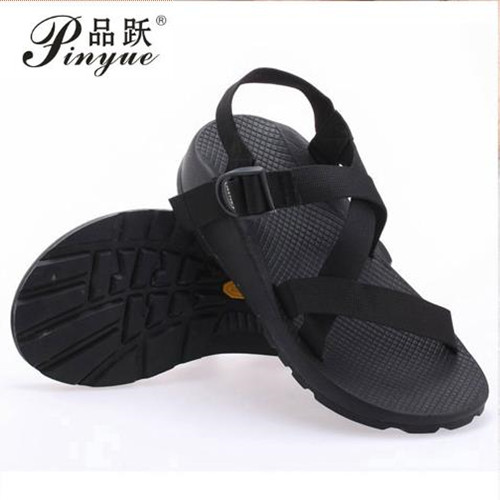 Male Non-Slip Rubber Shoes 2016 Vietnamese Sandals Roman Fashion Casual Shoes Men Summer Beach Sandalias Masculinas 37-44