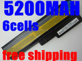 5200 mah batería para lenovo G430 G450 G530 G550 N500 Z360 G430 L08S6Y02 L06L6Y02 L08L6C02 L08O6C02 L08S6C02 51J0226 57Y6266