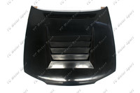 Car Accessories FRP Fiber Glass DM Style Hood Bonnet Fit For 1995 1996 R33 GTS Spec 1 Hood Cover