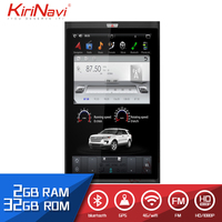 KiriNavi Vertical Screen Tesla Style Android Touch display 17 Car Gps Navigation For Ford expedition Touch Screen Radio WIFI 4G