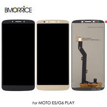 Original LCD For Motorola MOTO E5 E 5th Gen LCD Display Touch Screen Digitizer Assembly For Moto G6 Play 5.7