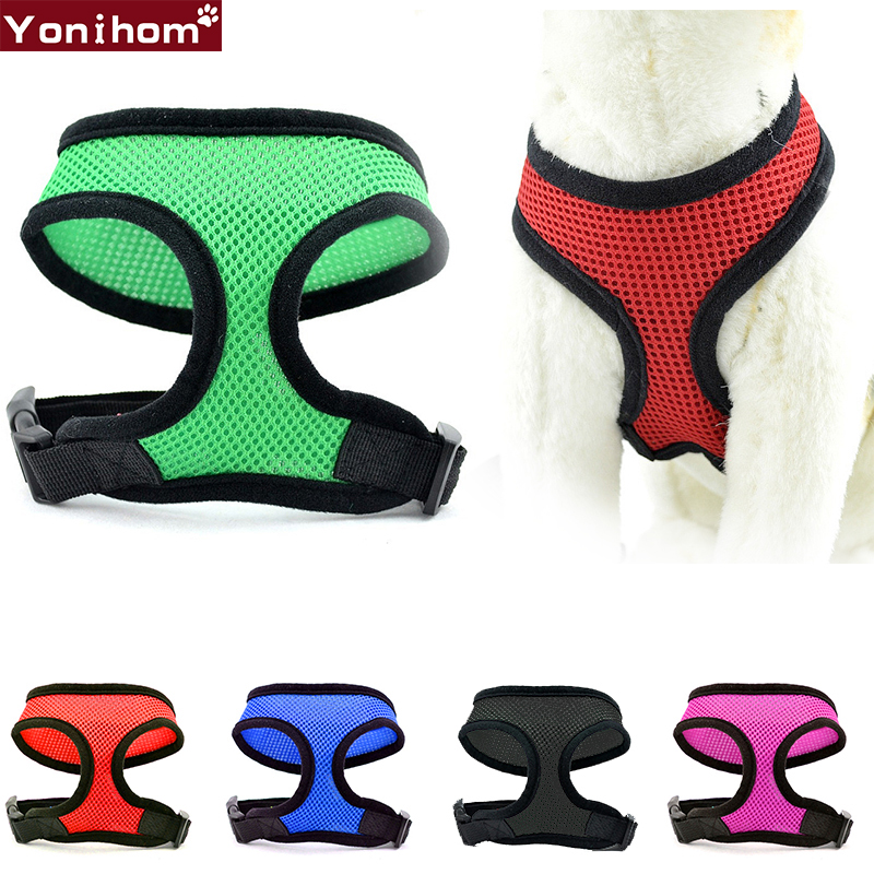 Dog Harness Vest Training for Chihuahua Puppy Soft Mesh Pet Harness for Dogs Cats Petshop Puppy Collar Cat Pet Dog Chest Strap