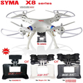 Syma X8C X8W X8 6-Axis RC Quadcopter Without camera Professional Drone Compatible With Gopro/SJCAM/Xiaoyi/Xiaomi