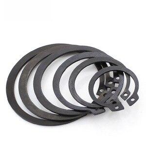 Image 5 - GB894 Circlips For Shaft 65 Manganese Steel Shaft Retaining Ring Bearing Retainer Circlip M8 M9 M10 M11 M12 M13 M75