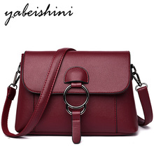 The New Women Small Satchel Bolso mujer Crossbody Bags For Women Sac A Main Messenger Bags Leather Handbag Ladies Shoulder Bag цена 2017