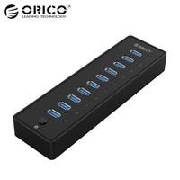 ORICO P10 U3 USB 3 0 10 Ports USB HUB With VL812 Controller Premium 12V 3A