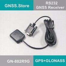 5 в rs232 DB9 RS-232 gps ГЛОНАСС приемник Антенна Gnss чип модуль дизайн, NMEA0183